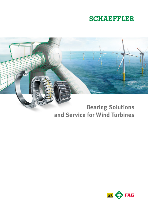 Bearing Solutions and Service for Wind Turbines