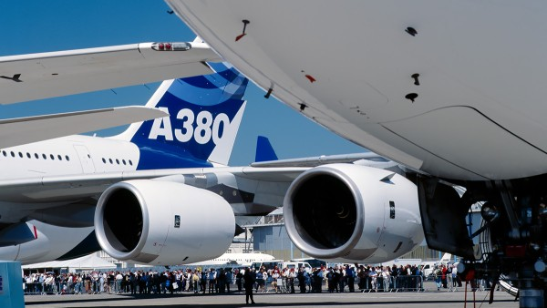 Ticari uygulamalar: Airbus A380