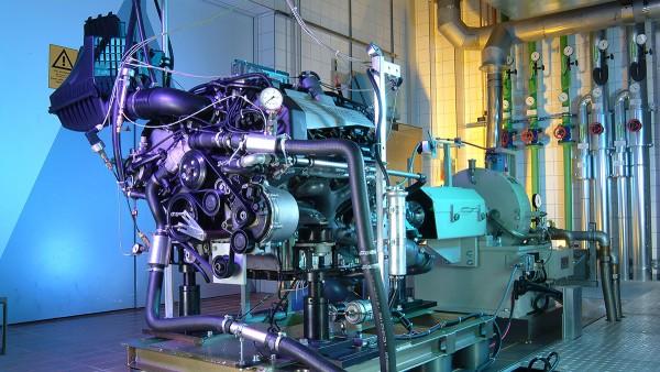 Motosiklet ve özel araçlara yönelik Schaeffler endüstriyel çözümleri: Motor test tezgahı