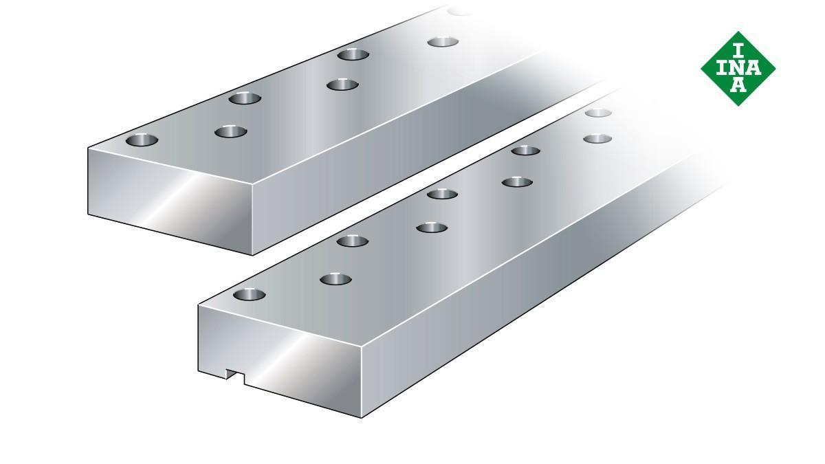 Schaeffler lineer kılavuzları: Kılavuz yolları