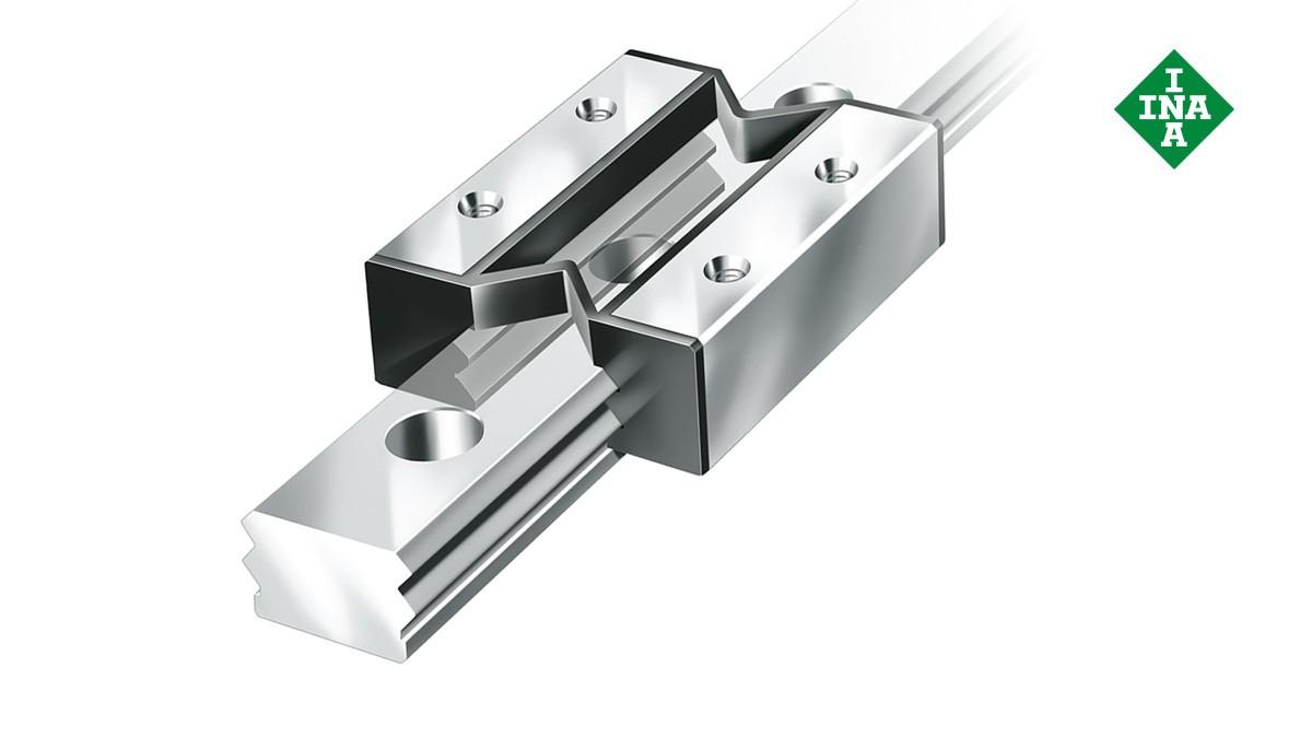 Schaeffler lineer kılavuzları: Minyatür düz kılavuz sistemler